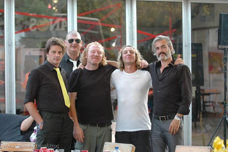 Soundgarden Tour Bus