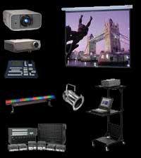 Eiki International, Analog Way, Extron, Kramer Electronics, Da-Lite, Chauvet